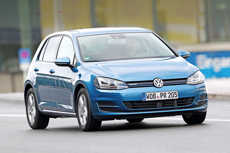 VW Golf TGI Blue Motion, Frontansicht