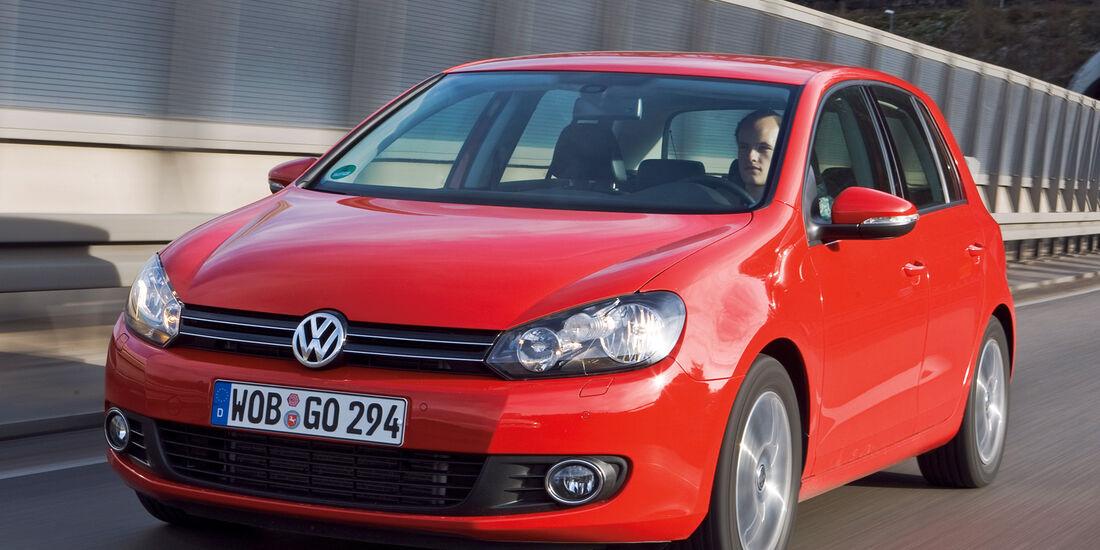 VW Golf VI/Cabrio, Frontansicht