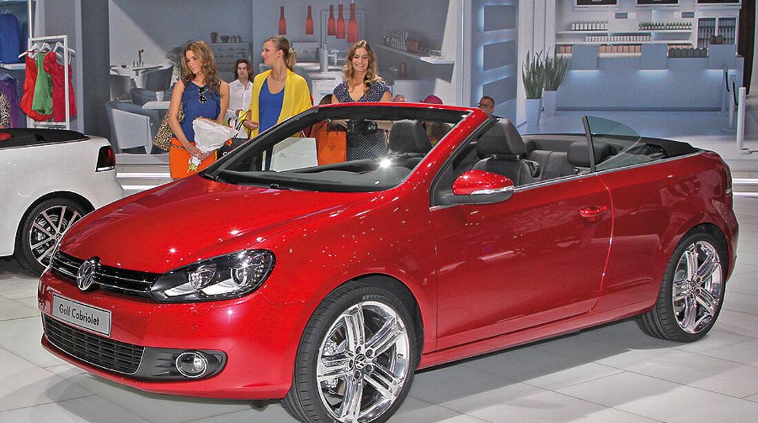 VW Golf VI Cabrio, Genf 2011