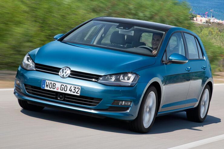 VW Golf VII, Frontansicht