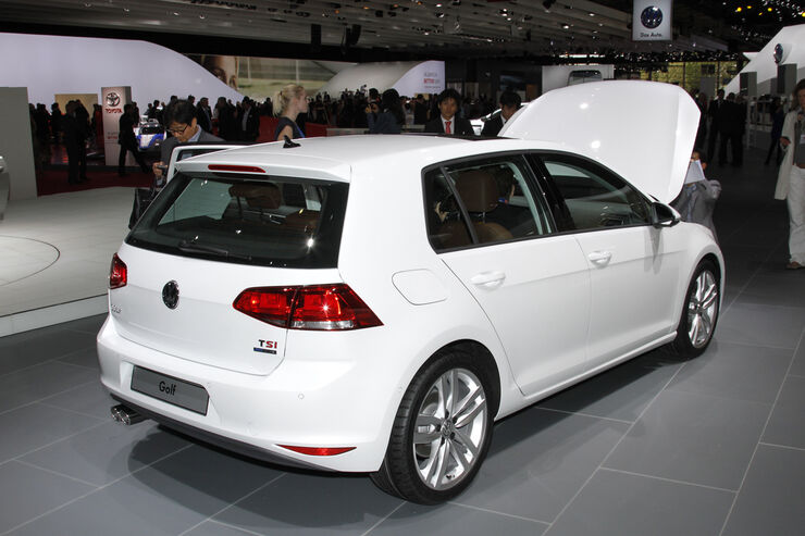 neuer vw golf vii auf dem autosalon paris das ist der. Black Bedroom Furniture Sets. Home Design Ideas