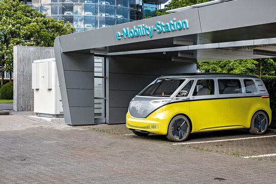 VW I.D. BUZZ, Impression, Außenansicht