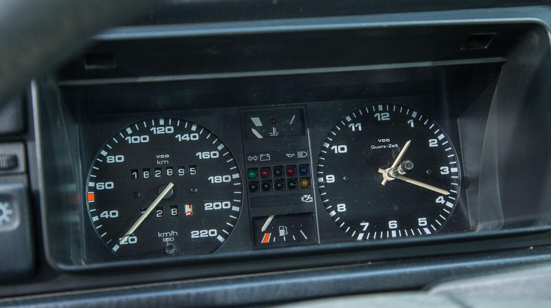 VW Jetta 1.8, Rundinstrumente