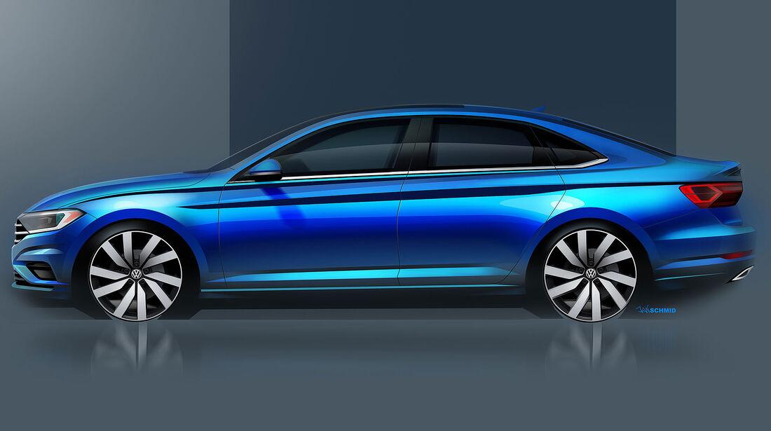 VW Jetta 2019 Teaser
