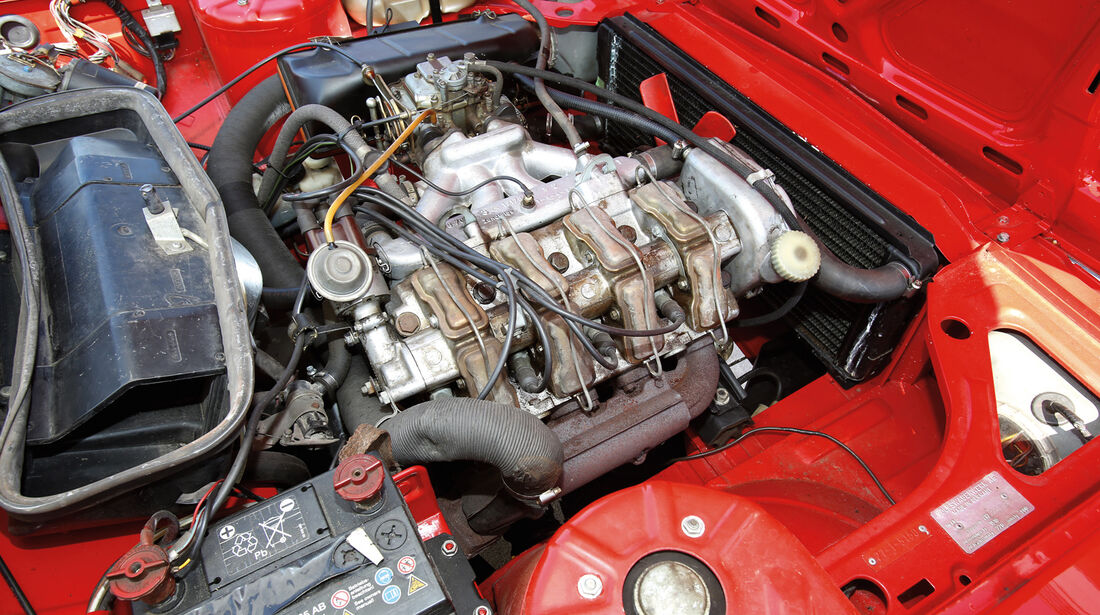 VW K 70, Motor