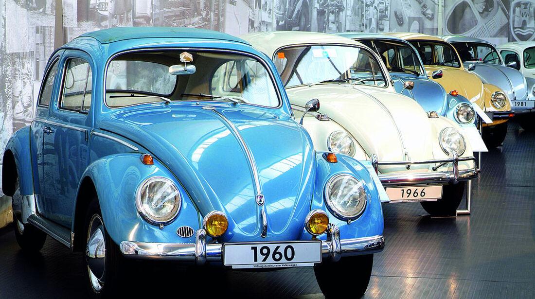 VW Käfer-Historie im Museum