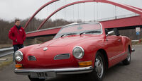 VW Karmann Ghia, Frontansicht