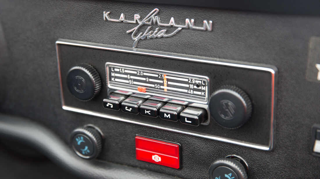VW Karmann Ghia, Radio