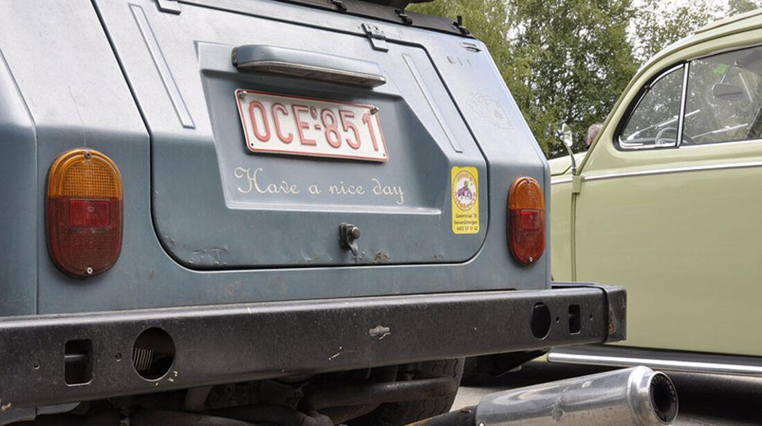 VW Kübel Endrohr
