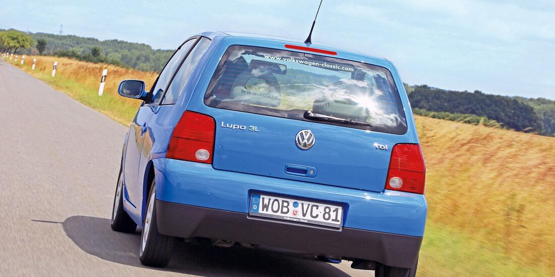 VW Lupo 3L, Heckansicht