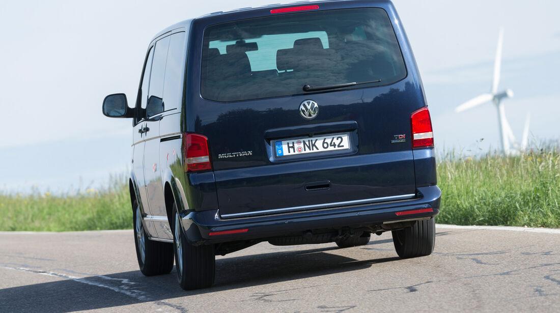 VW Multivan 2.0 BiTDI BMT, Heckansicht