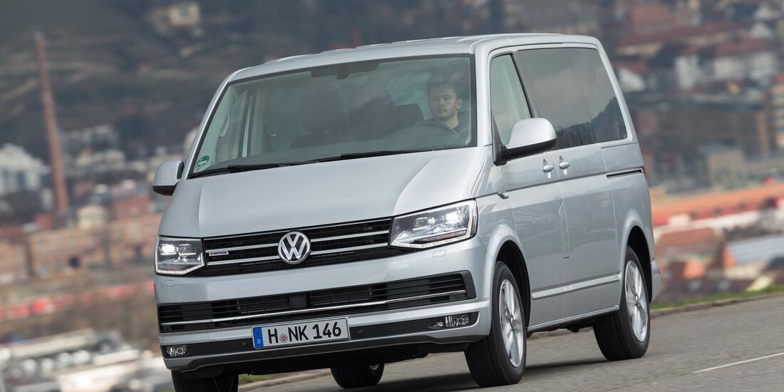 VW Multivan 2.0 TDI 4Motion, Frontansicht