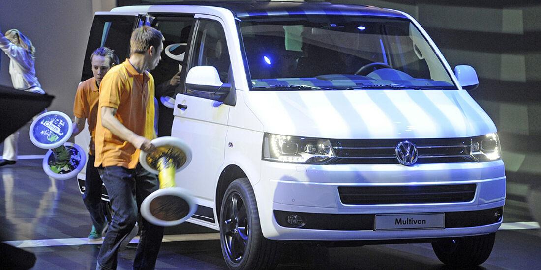 VW Multivan Genf 2011