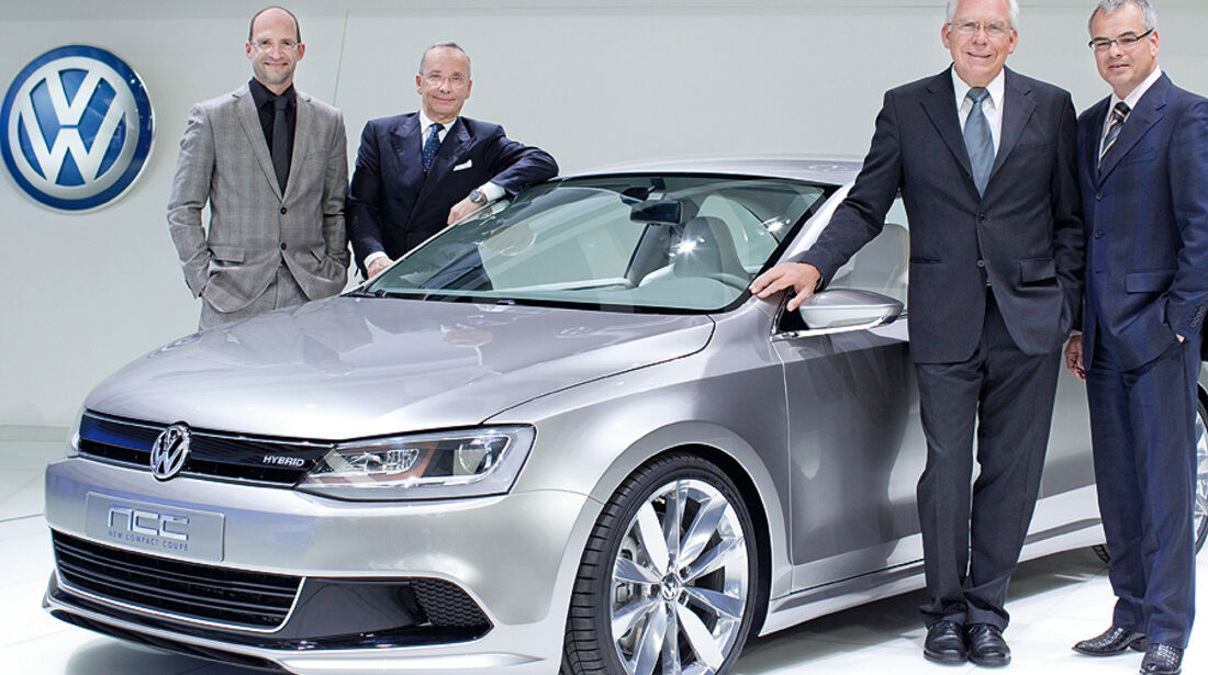 VW New Compact Coupe Detroit