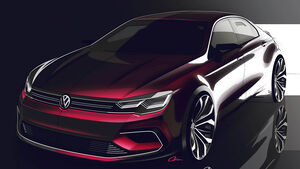 VW New Midsize Coupé Sperrfrist 17.04.2014 00.00 Uhr