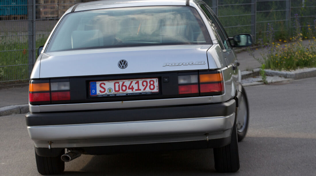 VW Passat 1.8 GL, Heck