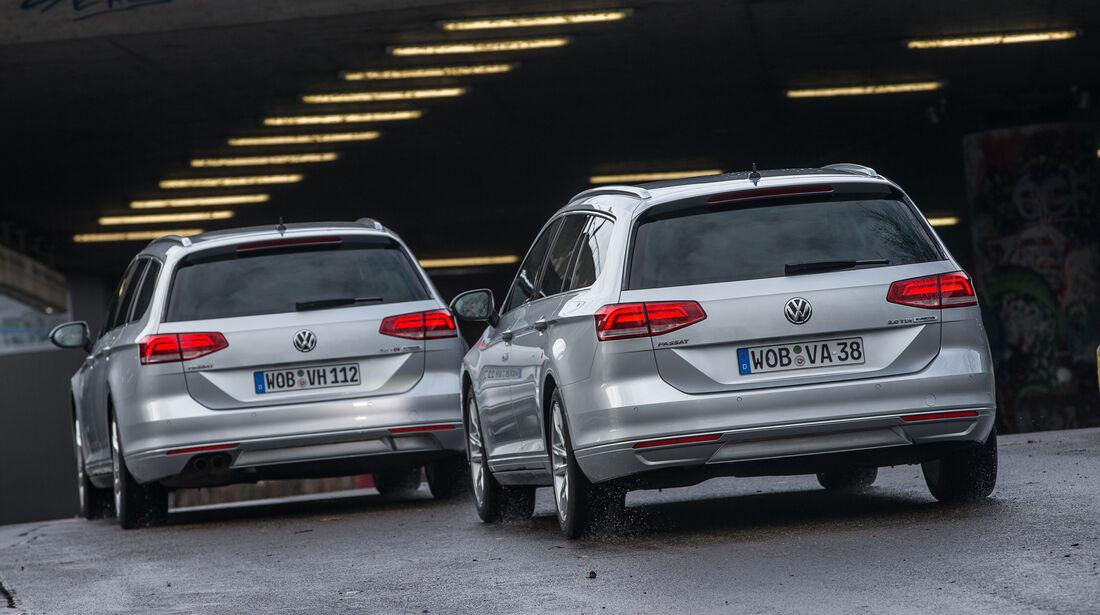 VW Passat 2.0 TDI, VW Passat 2.0 TDI SCR, Motorenvergleich, Motorvarianten