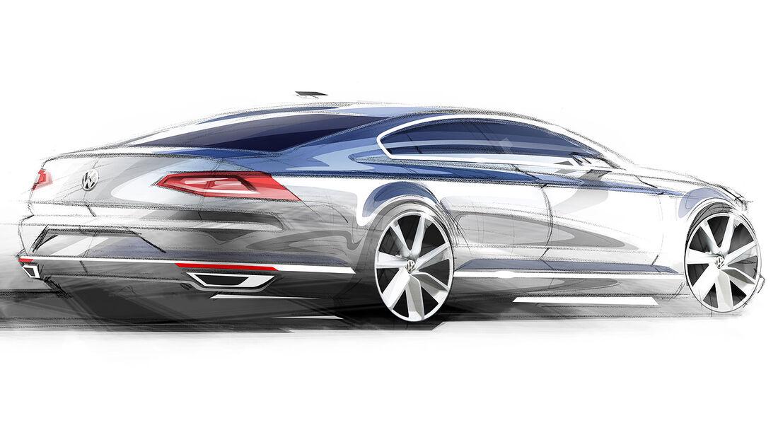 VW Passat 2014 Teaser-Bilder