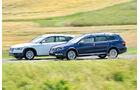 VW Passat Alltrack 2.0 TDI 4Motion, Audi A4 Allroad Quattro 2.0 TDI, Seitenansicht