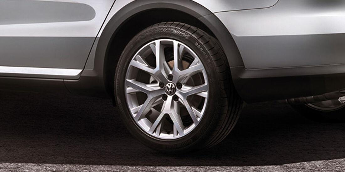 VW Passat Alltrack, Felge
