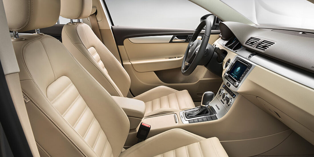VW Passat Alltrack, Innenraum, Sitze