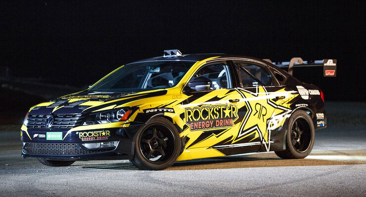 VW Passat Drift Car Tanner Foust