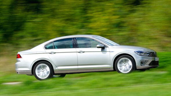 VW Passat GTE, Seitenansicht