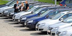 VW Passat, Händler