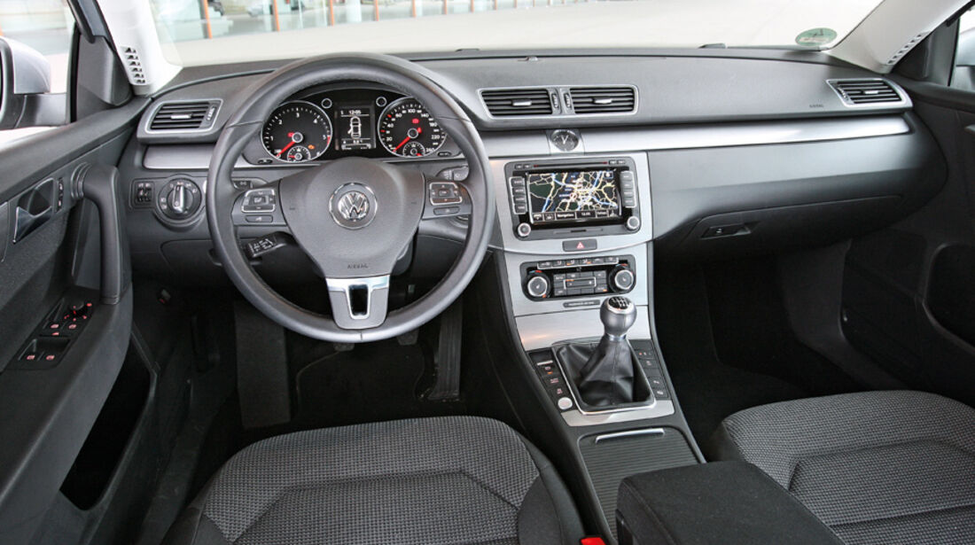 VW Passat, Innenraum