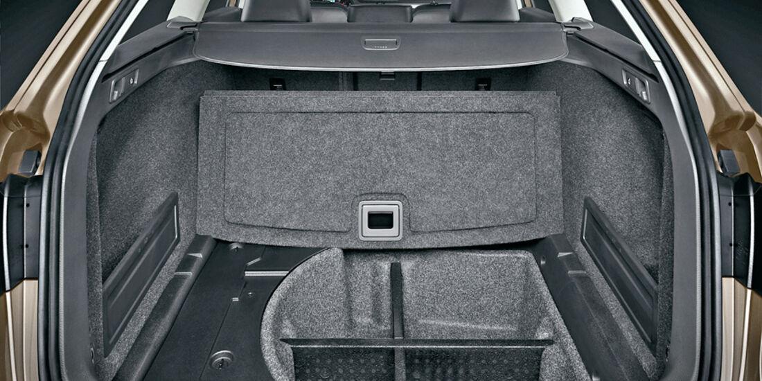 VW Passat, Kofferraum
