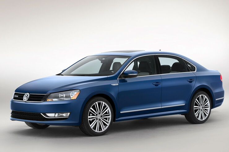 VW Passat USA Bluemotion