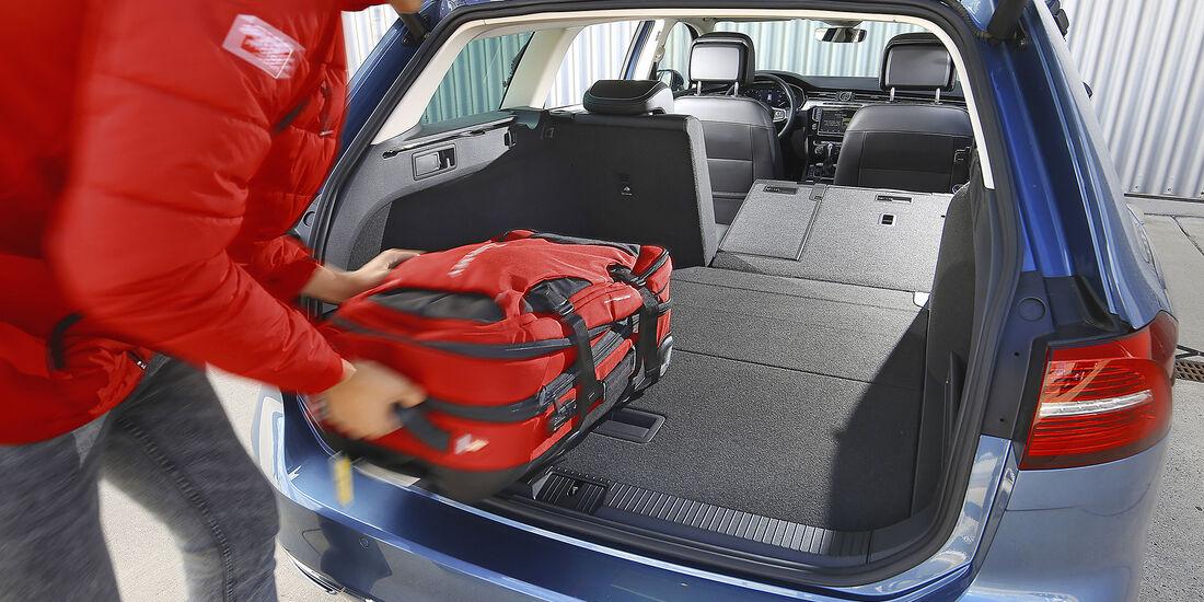 VW Passat Variant 1.4 TSI, Kofferraum