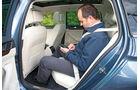 VW Passat Variant 2.0 TDI 4Motion, Fond, Rückbank