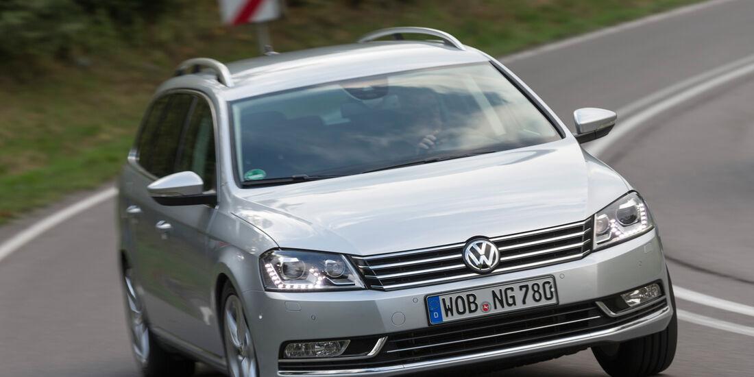 VW Passat Variant 2.0 TDI Highline, Frontansicht