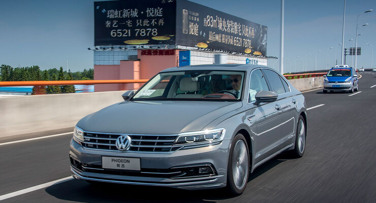 VW Phideon 480 V6 4Motion SAIC Shanghai China