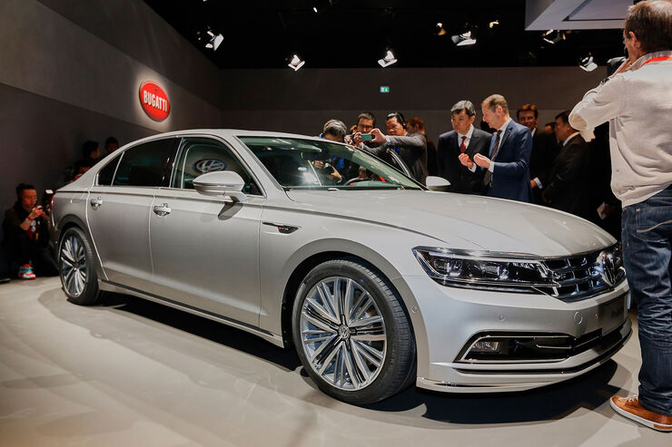 VW Phideon: Oberklasse-Limousine für China - auto motor ...