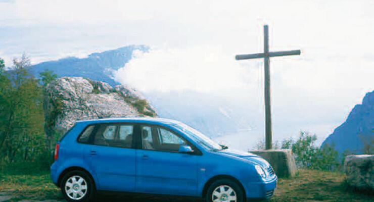 vw polo 1.4 16v highline im test - auto motor und sport