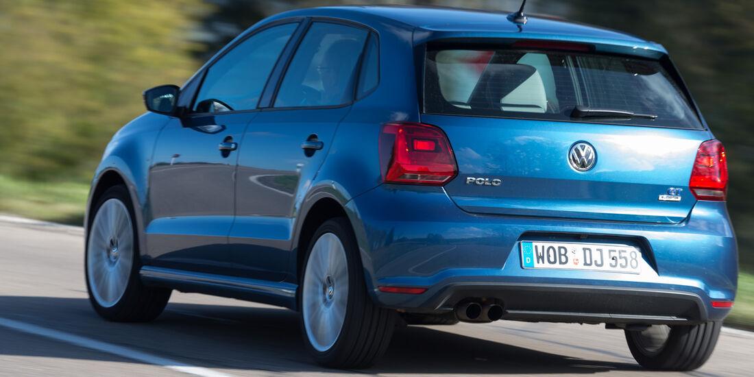 VW Polo Blue GT, Heckansicht