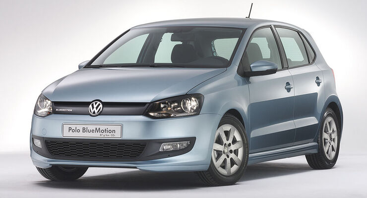 VW Polo BlueMotion Concept