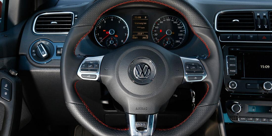 VW Polo GTI, Cockpit, Lenkrad