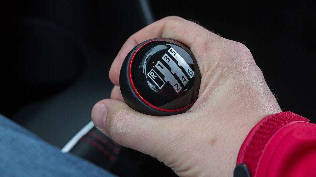 VW Polo GTI, Schaltgetriebe, Schalthebel