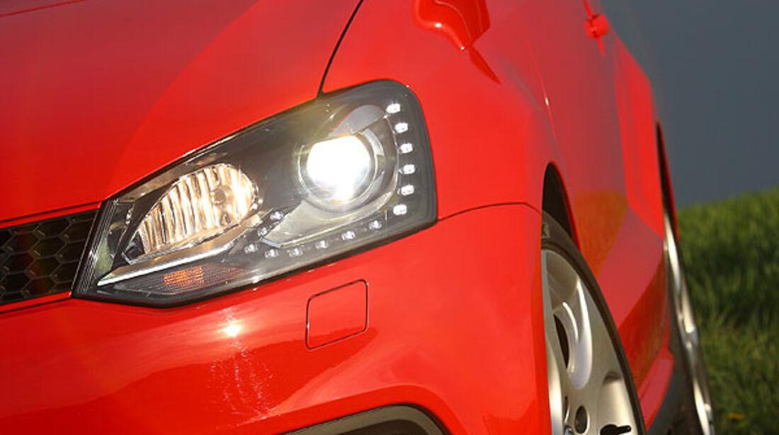 VW Polo GTI Scheinwerfer