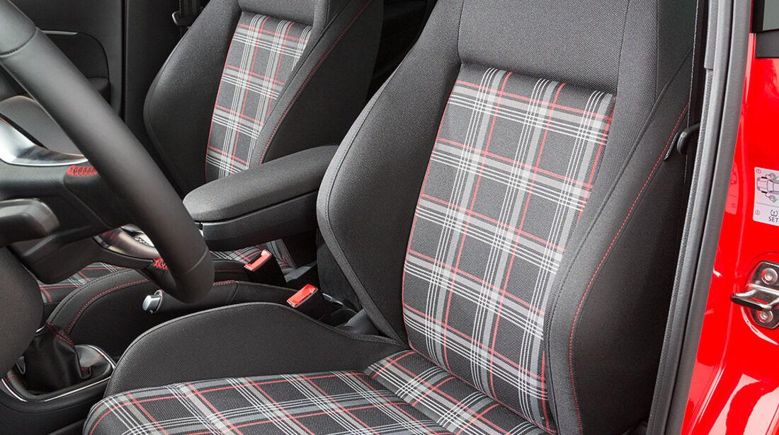 VW Polo GTI, Sitze
