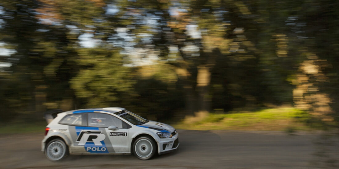 VW Polo WRC Tracktest
