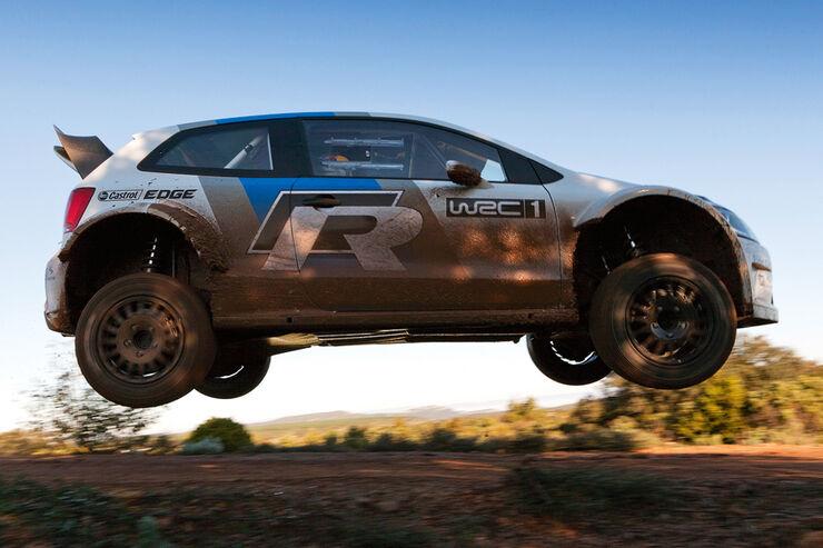 VW Polo WRC Tracktest