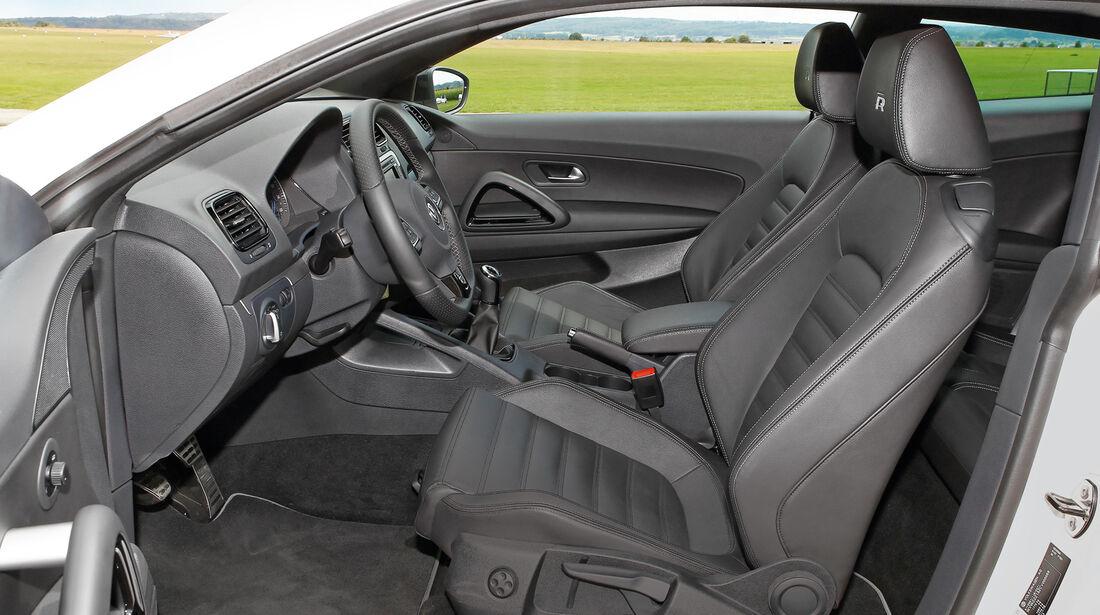 VW Scirocco, Cockpit, Fahrersitz