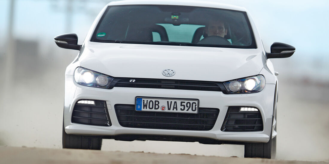 VW Scirocco, Frontansicht