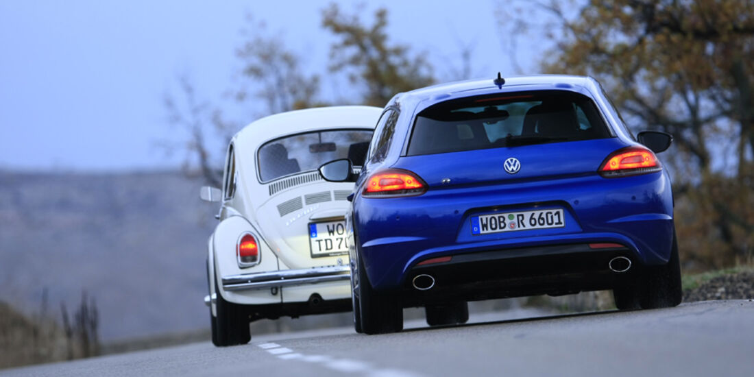 VW Scirocco R, VW Käfer 1302 TDE