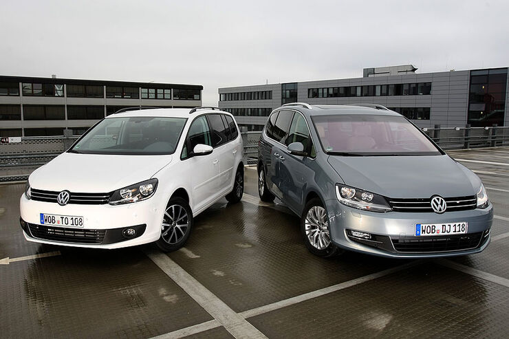 VW Sharan, VW Touran
