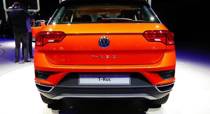 VW T-Roc - Auspuff - IAA Frankfurt 2017